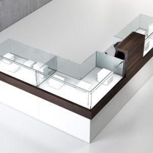 Myynti- ja palvelupistepöydät